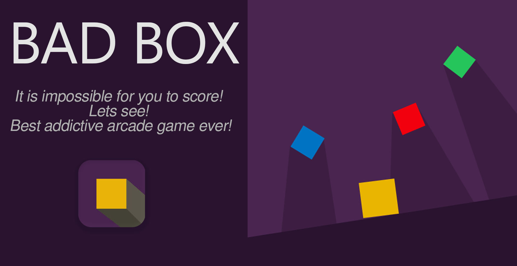 Bad Box – Extremely Impossible Squares!